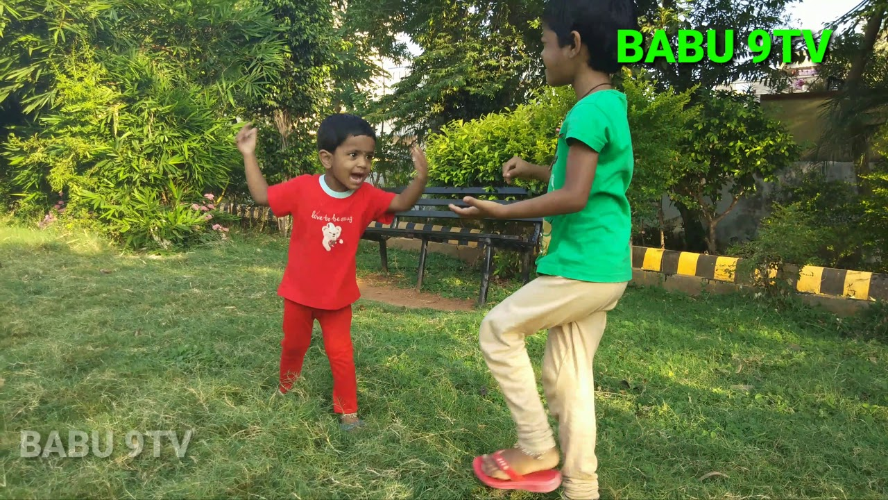 Children Rhymes | Children Dancing With Sang | Kids Rhymes telugu By Bhargavi Blogs