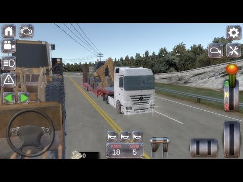 Actros Real Truck Simulator Best Android GamePlay FHD by ARAS Game