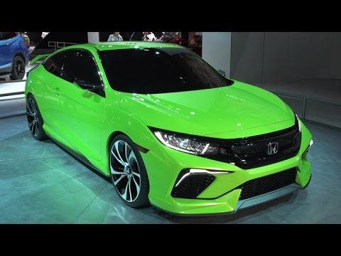 Honda concept shows exciting next generation Civic model