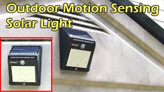 (6.98 MB) Solar Powered Motion Sensing 12 LED Waterproof Light - Innoo Tech Mp3