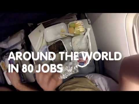 Travel Around the World in 80 Jobs - Adecco's Banned Video