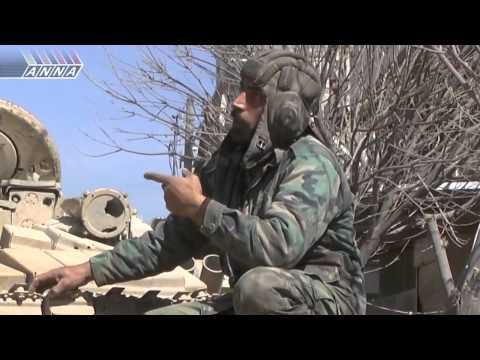 Российские танки в Сирийской армии.