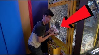 STEALING FROM A CLAW MACHINE.....