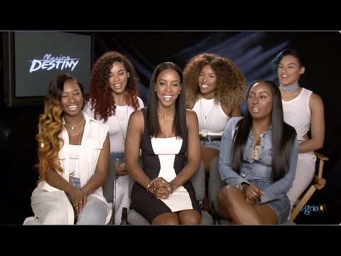 Kelly Rowland's new 'CHASING DESTINY' girl group looks FLAWLESS