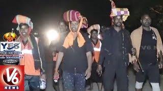 Ayyappa Swamula Maha Padayatra Continues For 9th Day | Secunderabad To Sabarimala