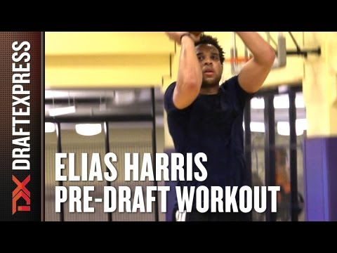 Elias Harris - 2013 NBA Pre-Draft Workout & Interview