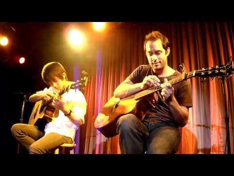 Trace Bundy & Sungha Jung - Canon In D (live  Nyc Canal Room) video