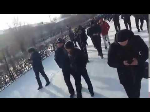 Забастовка на шахте Ленина