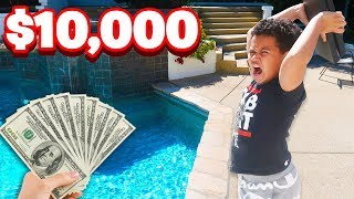 Angry Kid Throws PS4 in the Pool After Losing A Game Of Fortnite for $10,000! (RAGE) 😂😡