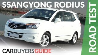 SsangYong Rodius (Turismo) Review 2017