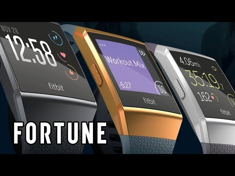 Fitbit Introduces Its First Smartwatch I Fortune