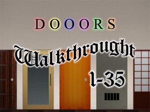 Doors iPhone soluzione completa livelli 1-35 Tutorial ITA [Alwy]