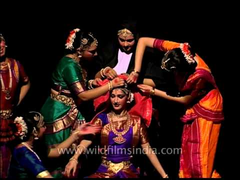 The oldest and purest form of Indian Classical dance - Bharatnatyam...
