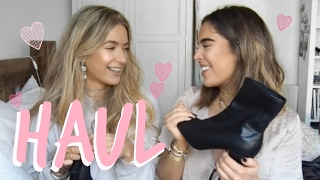 HAUL | ZAFUL, ZARA, TOPSHOP | Sophia and Cinzia