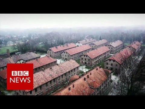 Auschwitz: Drone video of Nazi concentration camp - BBC News