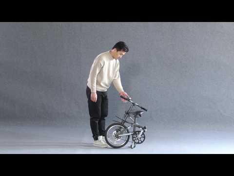 Jaunty folding bike( Gold Award of 2017 China International Bicycle Shows)