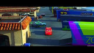 Carros 3!-acidente do relampago mcqueen ( hd )
