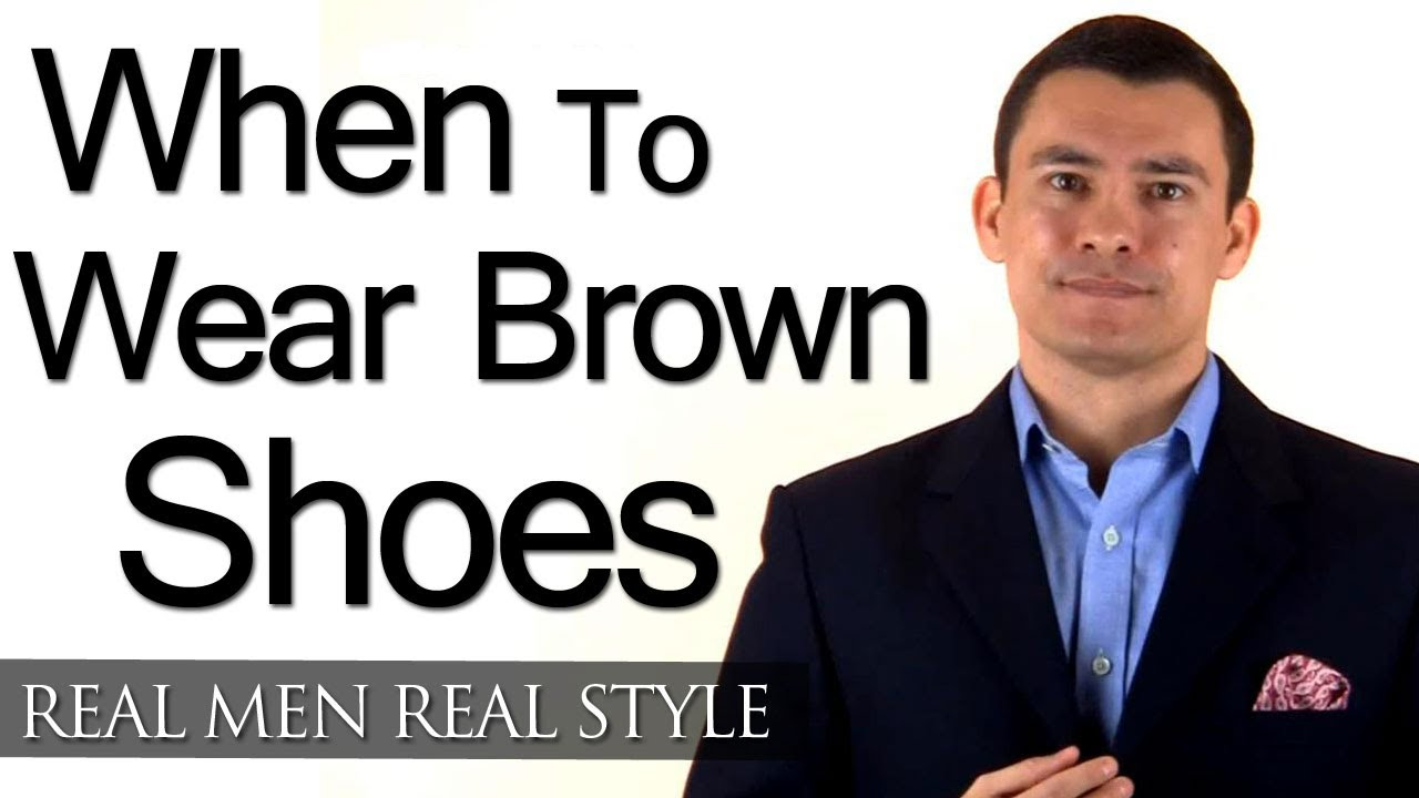 Can You Wear with Black Pants Brown Shoes