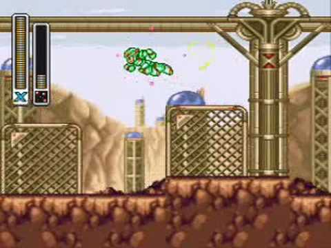 MegaMan X3 100% Walkthrough Golden Chip Usage