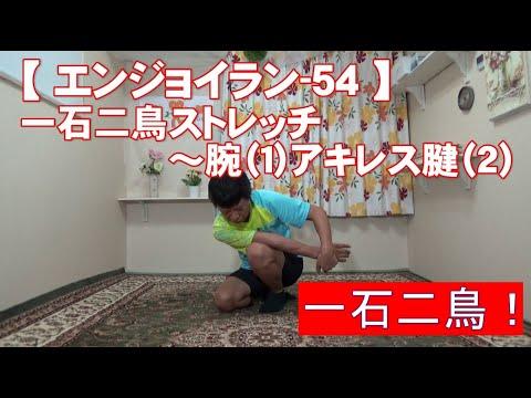 #54 腕(1)とアキレス腱(2)『一石二鳥』/筋肉痛改善ストレッチ・身体ケア【エンジョイラン】