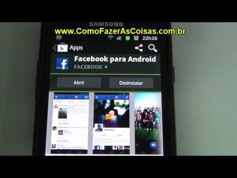Como instalar o Facebook e o Twitter no seu celular Android