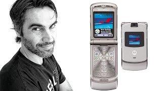 Motorola V3 RAZR, de 2004   retro review en español