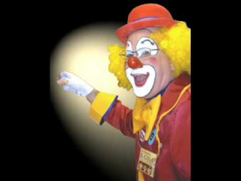 Good Visual Fun Video Effects Bright Smiling Happy Clown Photo