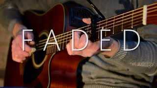 Download Lagu (Alan Walker) Faded - Fingerstyle Guitar Cover (with TABS) Gratis STAFABAND
