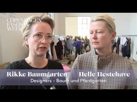 Rikke Baumgarten  Helle Hestehave, Designers, Baum Und Pferdgarten  – Interview AW13