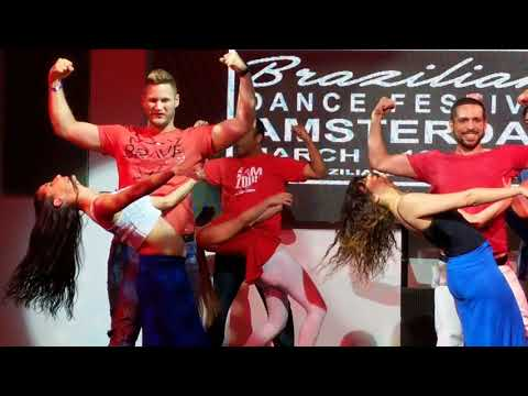 BDF2018: Ana and Leo with students in Choreography challenge ~ video by Zouk Soul