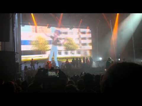 Cover Lagu Gorillaz - Sleeping Powder (LIVE Debut) 02 Brixton London June 2017