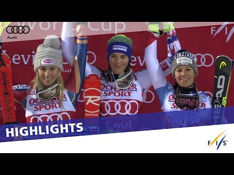 Highlights | Vlhová edges Shiffrin in Slalom opener at Levi | FIS Alpine