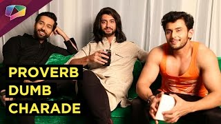 Ishqbaaz brothers play unique game of Proverb Dumb Charade