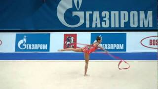 "Donich Ekaterina Russia ribbon GP Moscow  ""Гран При"" 2011 26/02"