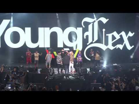 Young Lex Ft.Skinnyindonesian24 (Live Perform) at ViralFestAsia 2016 - Forever Young Special Edition