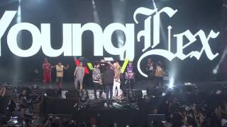 YOUNG LEX - O Aja Ya Kan & GGS Ft.Skinny Indonesian 24 & Kemal Palevi (Live @ Viral Fest Asia 2016)