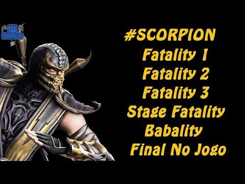 #Scorpion / Fatalitys e História No Jogo