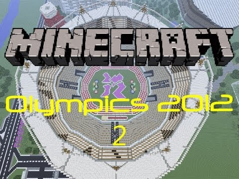 Minecraft London 2012 Olympic Stadium [Megabuild]
