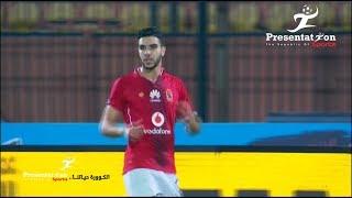 """الهدف الأول لـ الأهلي امام الانتاج الحربي """" وليد ازارو """" الجولة الـ 9 الدوري المصري"""