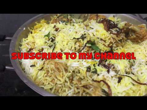 #ChickenDumBiryani Recipe | Hyderabadi Chicken Biryani | Chicken Biryani Recipe In Telugu |