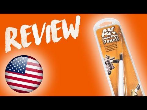 AK Reviews || AK Glass Fibre Pencil - ENG