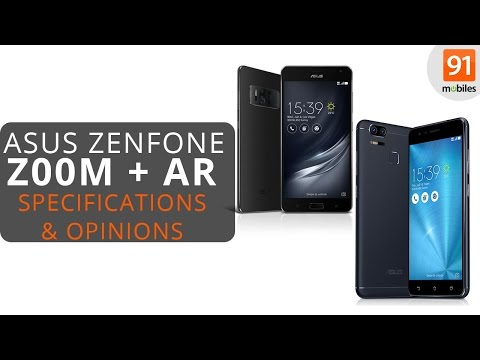 ASUS Zenfone 3 Zoom + ASUS Zenfone AR Review of Specifications + Opinions!