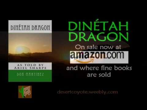 Dinétah Dragon book trailer
