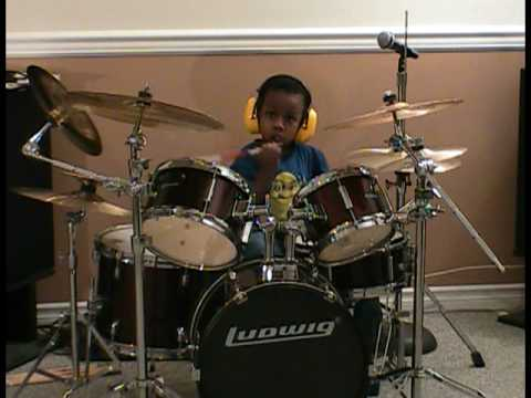 System of a Down - Chop Suey, Cover, 4 Year Old Drummer