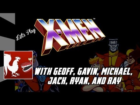 Let's Play - X-men Arcade video