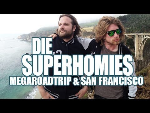 Die Superhomies in den USA - Mega-Roadtrip und San Francisco (mit Gronkh & Sarazar)