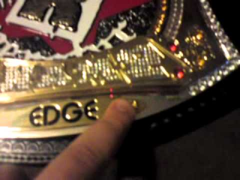 WWE Rated-R Spinning Championship Replica Belt