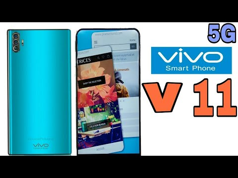 Vivo v11 With 5G Network - 48 MP DSLR Camera With 8Gb Ram a 256Gb, Under display Fingerprint