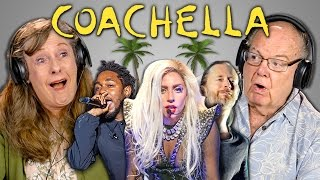 ELDERS REACT TO COACHELLA 2017 (Lady Gaga, Kendrick Lamar, Hans Zimmer)