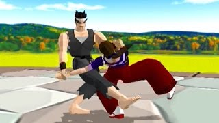 Virtua Fighter 10th Anniversary (2003) EXTENDED Akira Playthrough VS ALL 16 Characters (60 FPS) PS2